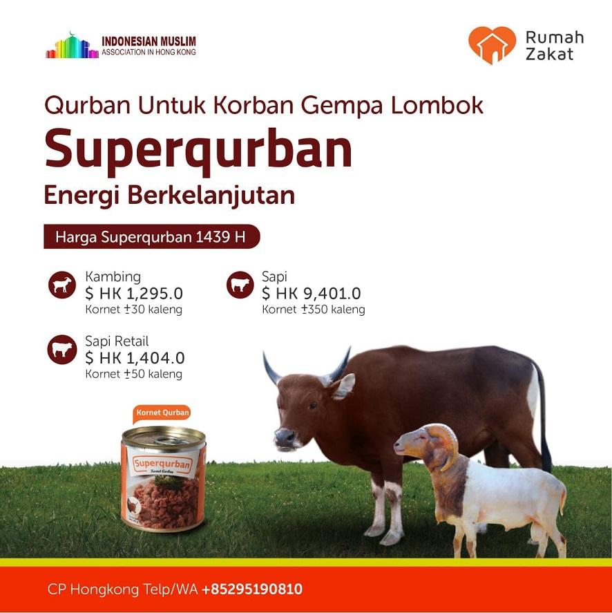 Qurban untuk Korban Gempa Lombok