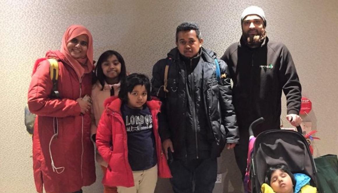 Tiga Warga London dan Keluarga Malaysia Dipertemukan lewat Iman